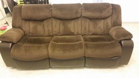 Ashley Recliner Couch w/ cover in Okinawa, Japan