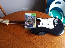 Rock band 3 and guitar for Xbox 360 in Lakenheath, UK