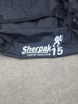 Sherpak 15-  waterproof  gear storage system for roofrack in Camp Lejeune, North Carolina
