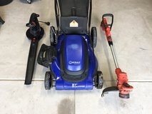 Electric Mower, Trimmer, Blower in San Antonio, Texas