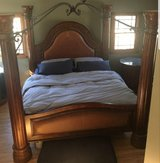 Kind size post bed set by Collezione Europa in Yorkville, Illinois