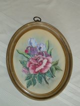 vintage frame & pastel drawing in Plainfield, Illinois