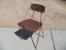 **  Cool Rusty Chair  ** in Yucca Valley, California