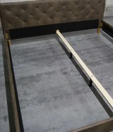 Bed / Upholstered Double-Bed 180x200cm  NEW / UNPACKED in Ramstein, Germany
