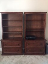 Office bookcase and filing cabinets in Camp Lejeune, North Carolina