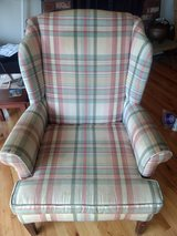 Wingback chair in Fort Lewis, Washington