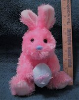 Pink Easter Bunny in Tomball, Texas