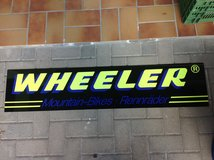Wheeler Mountain Bikes Rennraeder Sign in Ramstein, Germany