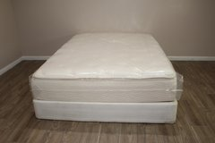 Queen Size Mattress (Pillowtop Restonic Legacy) in Tomball, Texas
