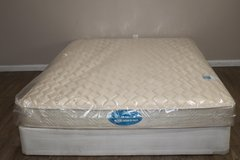Queen Size Mattress - Simmons Deep Sleep Night time FIRM in Tomball, Texas