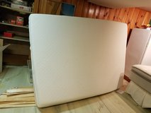 Queen TempurPedic Cloud Supreme Mattress & matting box Spring EUC in Westmont, Illinois