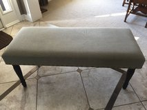 Bench - Light Olive Green / Gray Bench from Home Goods in Bolingbrook, Illinois