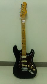 Strat style electric guitar in Okinawa, Japan