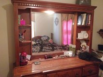 Dresser with light & night stand in Lawton, Oklahoma