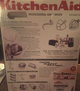 KITCHENAID Professional 600 Series Mixer, NEW in Kingwood, Texas