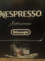 NEW, Nespresso DeLonghi Lattissima Plus in Baytown, Texas