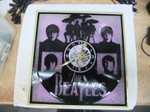 Beatles  Handcrafted LED Silhouette LP Clock REDUCED in Cherry Point, North Carolina
