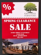 Spring Clearance Sale Sale Sale in Ramstein, Germany