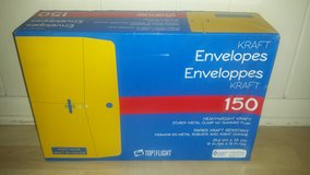 New in Box!  Heavyweight Kraft Envelopes 10x13 in Westmont, Illinois