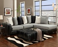 Two Toned Sectional. ** 2 Color Options! ** in Cherry Point, North Carolina