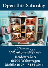 Susanne's Antique Open House on Saturday 14 April 10.00-18.00 Hours in Spangdahlem, Germany