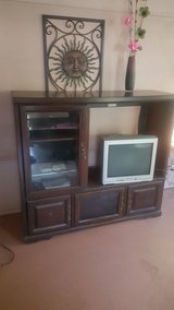 Solid Cherry wood Entertainment stand in Beaufort, South Carolina
