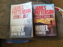 James Patterson Books in Fort Riley, Kansas
