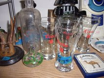 Set of Four Coors Glasses in Fort Riley, Kansas