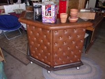 Brown Leather Coated Bar in Fort Riley, Kansas