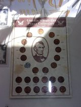Lincoln Wheat Ear Penny Collection in Fort Riley, Kansas