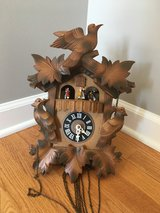 Genuine German Made Mechanical Cuckoo Clock with Music in Plainfield, Illinois