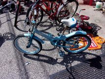 Blue Bratz Bicycle in Fort Riley, Kansas