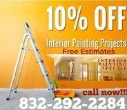 Interior Painting Services in Kingwood, Texas