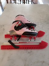 Young Girls Short Track Speed Skates, Fully Custom in Plainfield, Illinois