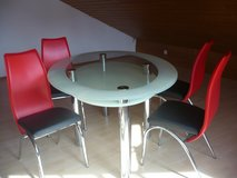 table and 4 chairs in Ramstein, Germany