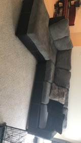 Black and gray sectional in Fort Leonard Wood, Missouri