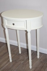 Side Table - White Distressed in Houston, Texas