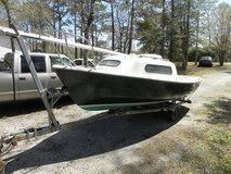 Sailboat--17 Ft.  SIRENE  with trailer, 4 HP Mercury Outboard and accessories in Camp Lejeune, North Carolina