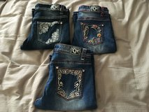 Size 14 little girls jeans in Fort Campbell, Kentucky