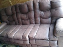 Brand new dual reclining couch for trade in Camp Lejeune, North Carolina