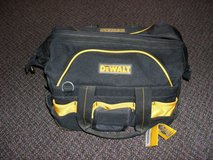 "Dewalt 42 Pocket 18"" Pro Contractor Tool Bag in Naperville, Illinois"