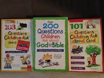 3 Books - Questions Children Ask about God & The Bible in Okinawa, Japan