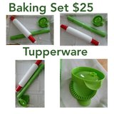 New Tupperware Baking Pastry Set in Baytown, Texas