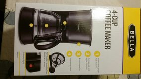 New coffeemaker coffee maker machine 4 cup in Baytown, Texas