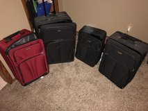Suitcases in Belleville, Illinois