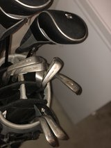 set of golf clubs and bag in Fort Riley, Kansas