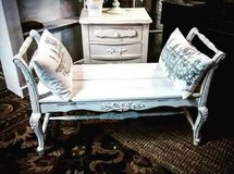 Custom Antique french bench in Oswego, Illinois