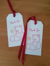 Thank You Gift Tags Handmade 6 Available in Ramstein, Germany