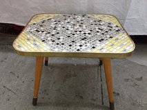 1950's  End Table Tiled Rock-ability in Ramstein, Germany