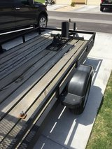 5x10 Open Air Flat Bed Trailer in Fort Hood, Texas